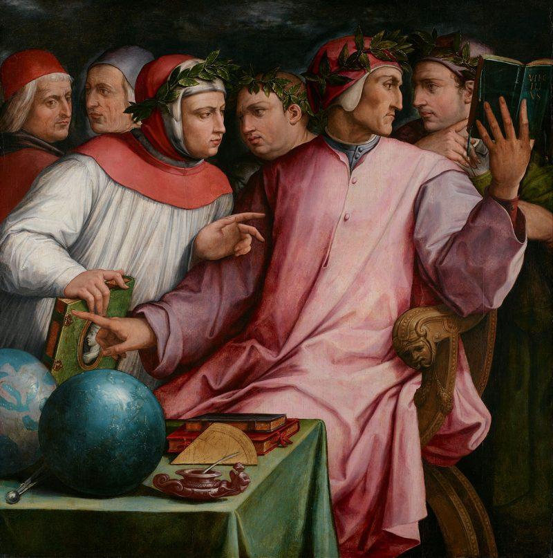Giorgio Vasari Six Tuscan Poets