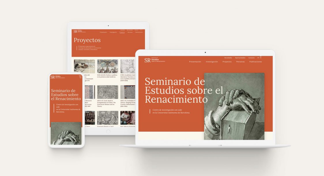 nueva web del seminario